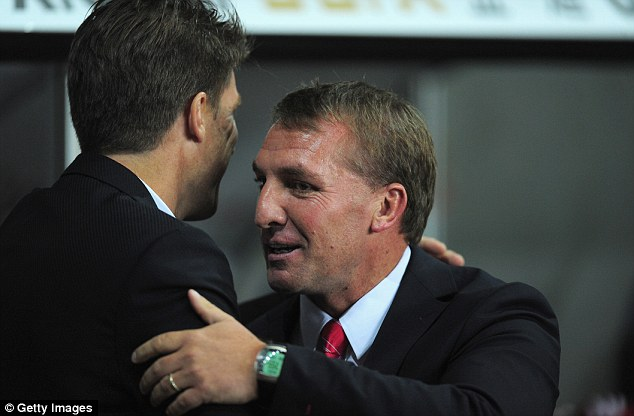 Concerned: The Liverpool boss is sure his side need to keep the England international quiet