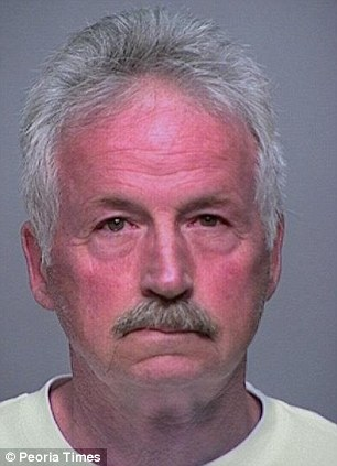 Terryl Gene Peters Sr, 67, also was sentenced on Friday after raping a seven-year-old girl in Arizona