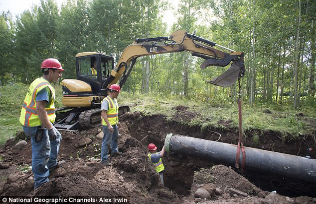 At long last: Originally the tube was supposed to be recovered 20 years after it was buried- which would be in 2003- but organizers forgot where it had been buried so it took an extra 10 years to dig it out