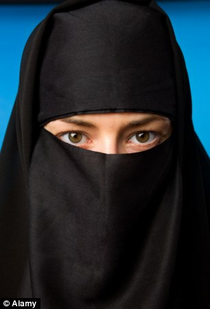 Soon a common sight: A full niqab