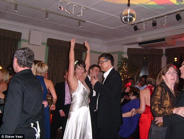 The wedding of Lucy Adams and Steve Vear in 2009 which cost  £20,000 according to Mr Vear