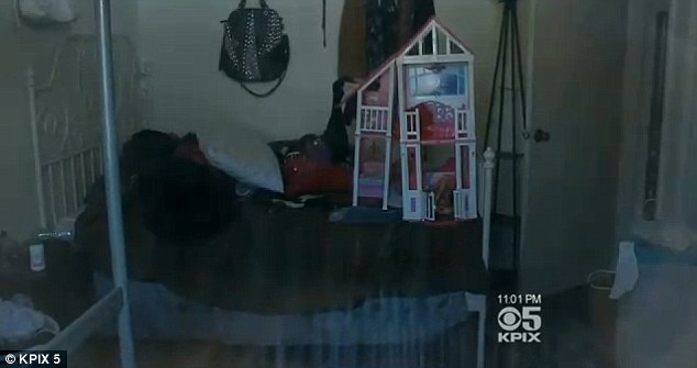 Shot while sleeping: The girl was last reported recovering from surgery to remove the bullet