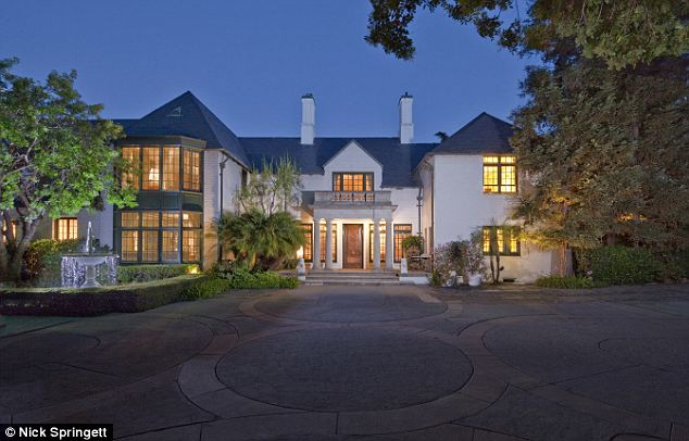 For sale: The house on 539 S. Mapleton Dr in Los Angeles, California, is on the market for $24.995 million.