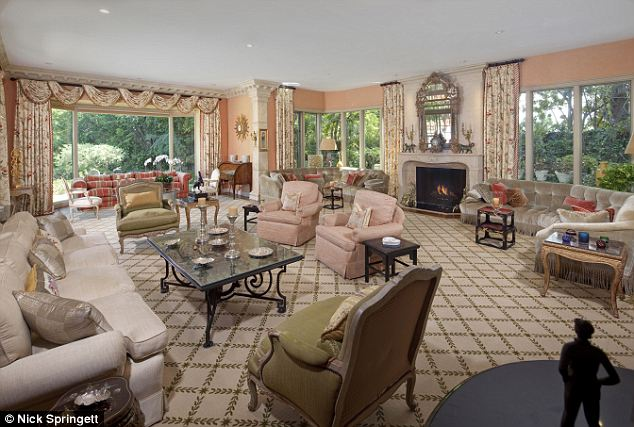 Formal and casual: It was built in 1932 and measures 9,000 square feet with seven bedrooms, nine bathrooms and a mix of formal and casual living spaces
