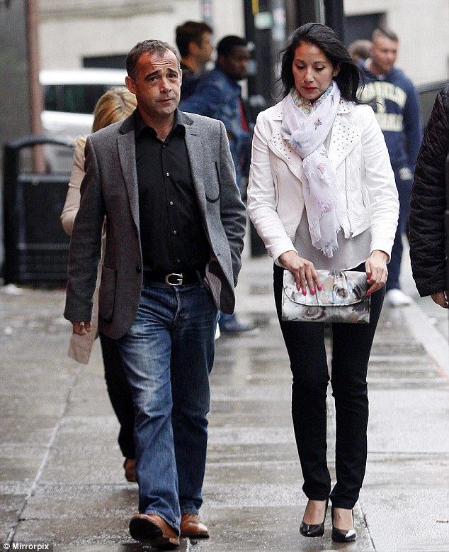 Supportive girlfriend: If Michael Le Vell goes on the show e will be leaving behind his family, who looked after him through his court ordeal his Chilean girlfriend Blanca Fouche, 31