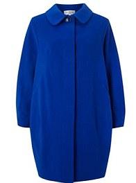 Carven Cocoon Wool-Blend Coat £855