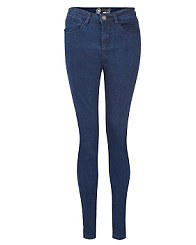 Blue High Rise Skinny Jeans £19.99 New Look