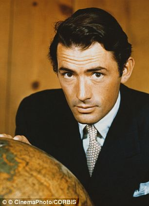 Handsome: Gregory Peck in the late 40s
