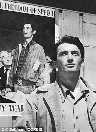 Actor Gregory Peck in 1943, before he met Veronique