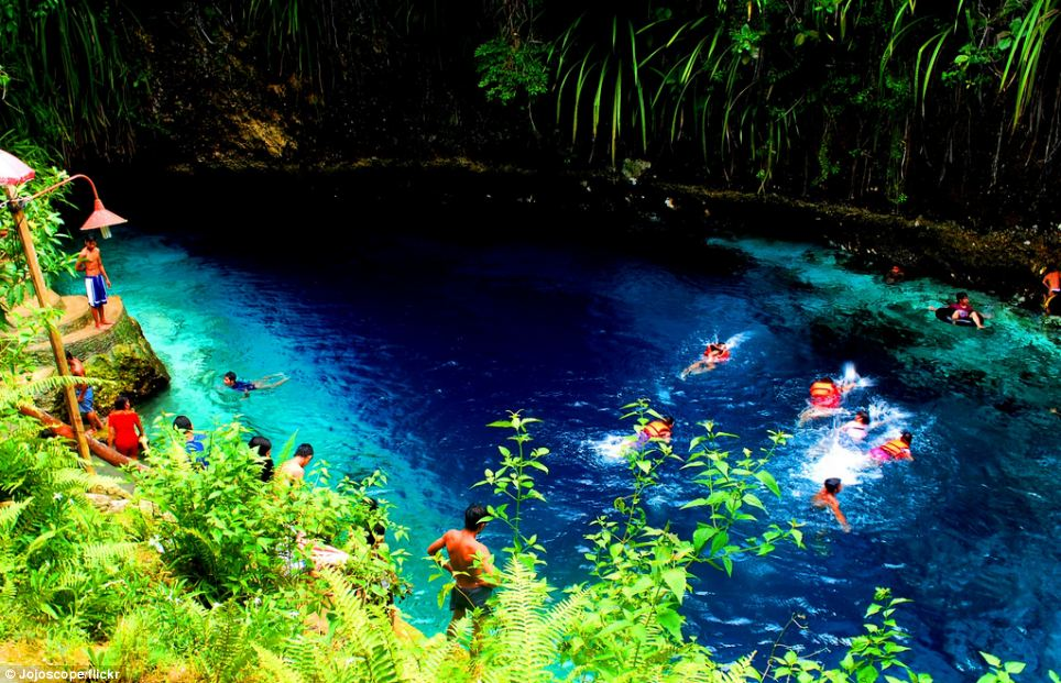 Popular: Regarded as one of the most beautiful spots in the Philippines, the area attracts tourists from around the world