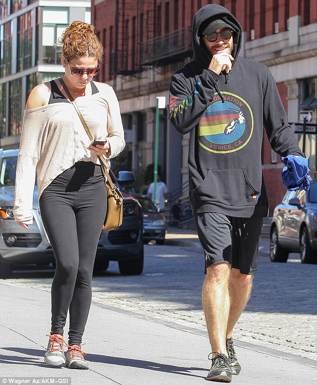 Trying to hide? The actor covered up by pairing his gym shorts with a hooded sweatshirt, baseball cap and sunglasses