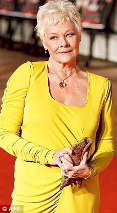 Don't panic! Dame Judi Dench reassured fans she has no plans to retire from acting