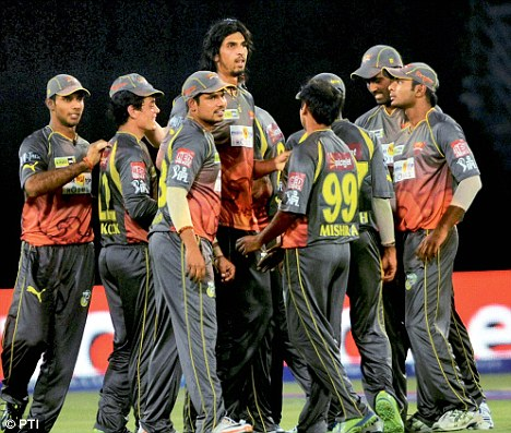 Bookie Chandresh Patel has alleged that he met SunRisers Hyderabad players to fix their IPL match against Pune Warriors