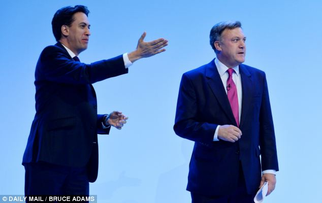 Trouble: The Labour leadership fears the two most senior men in the party may have been tarnished by the revelations