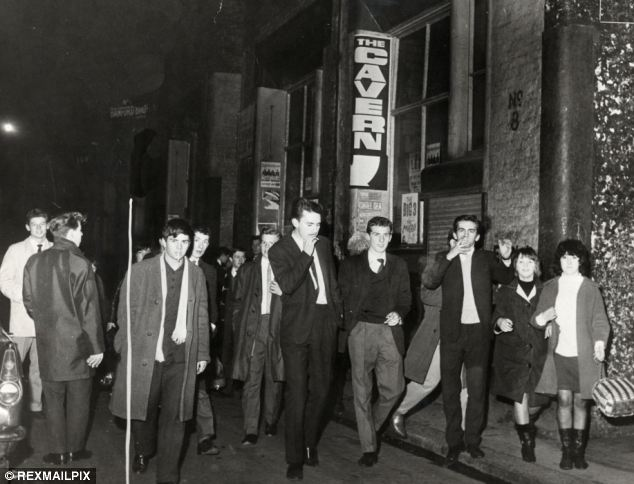 Trendy: The club was a mainstay of the Liverpool social circuit in the '60s