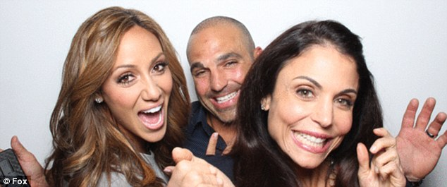 Happy family: Joe and Melissa Gorga paid a visit to Bethenny Frankel on her talk sho