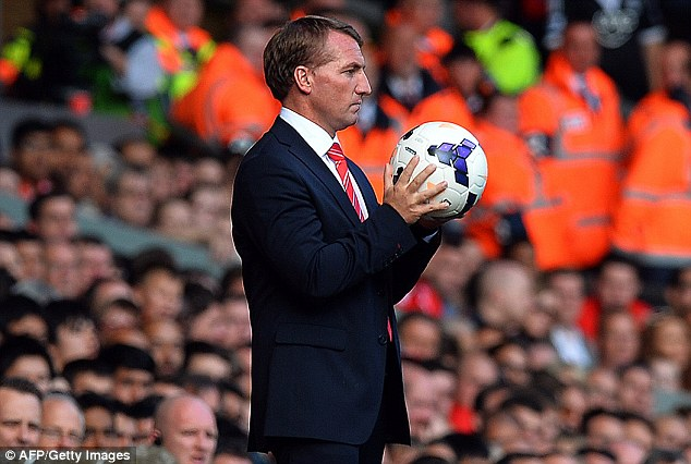 Undone: Brendan Rodgers saw Liverpool lose their first home game of the season to Southampton