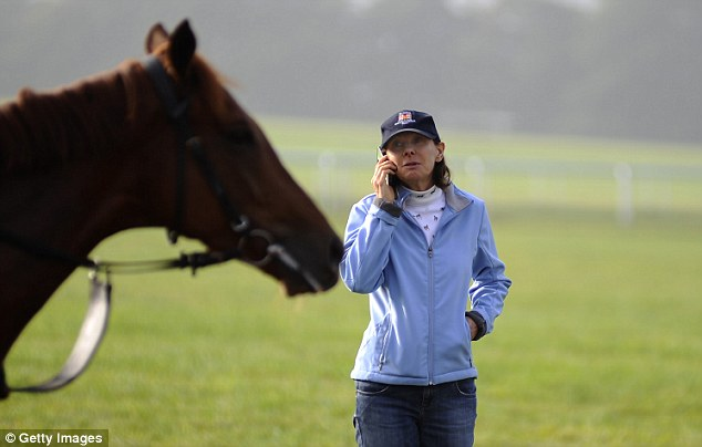 Lady luck: Lady Cecil has been given a boost ahead of Saturday's Cheveley Park Stakes