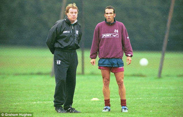Big fan: Harry Redknapp (left) is particularly fond of former charge Di Canio