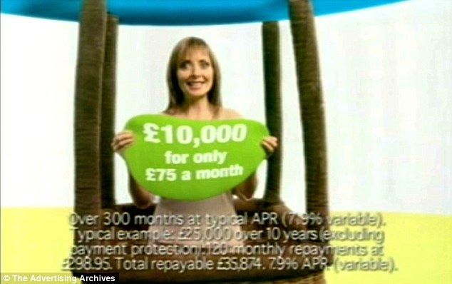 Ad campaign: Carol Vorderman was the face of FirstPlus