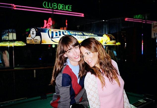 Caroline Flack (R) and Laura Jackson (L)
