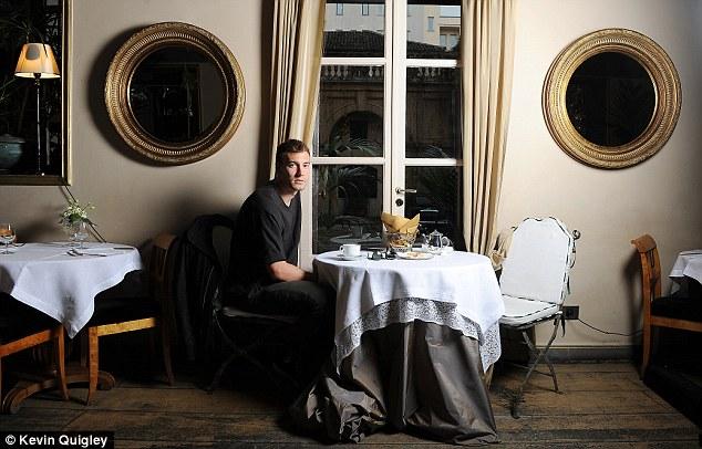 Tea for one? Nicklas Bendtner has struggled for popularity in the game
