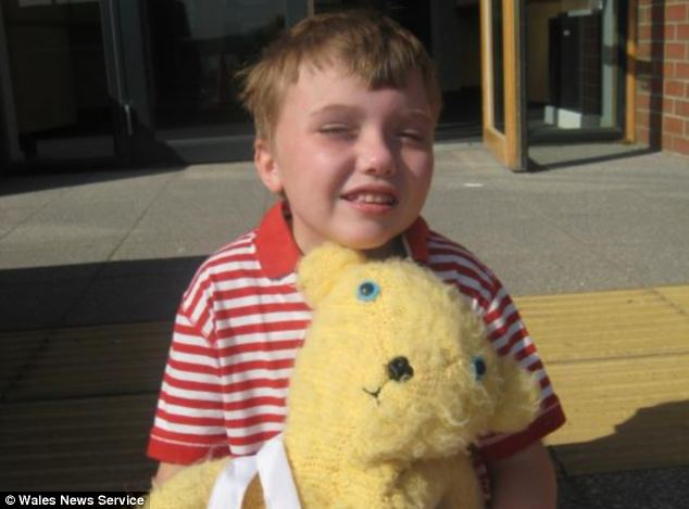 There is no cure for Louis' condition but his family hope with more research and continued education he will be able to finish school