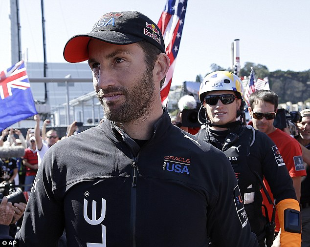 From nowhere: Ben Ainslie won the America's Cup in stunning fashion