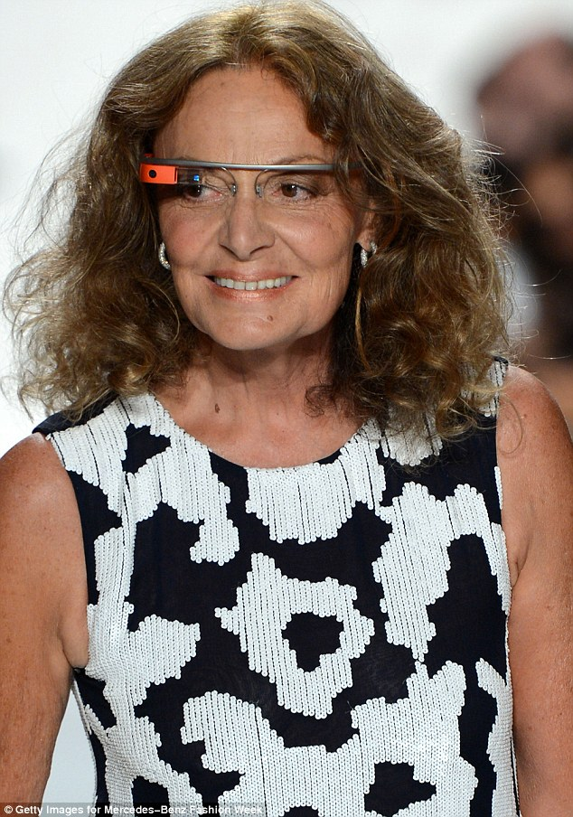 Over at Google, tech-savvy Diane von Furstenberg is teaming up with the CFDA for a new experience that will allow users to purchase from a Google+ Hangouts on Air app starting October 3