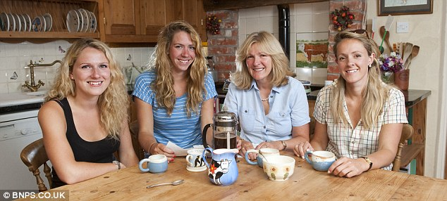 Family: Their father took over the running of the business with Carol after they married in 1984 and they went on to have their three daughters