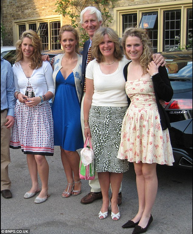 Loss: Their father was diagnosed with prostate cancer and died in 2009 aged 50. At the time Harriet was about to start her final year at Newcastle University while Katy was doing her A-Levels