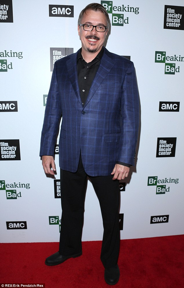 Moving on: Breaking Bad creator Vince Gilligan will debut a brand new series next year, a detective drama titled Battle Creek, following the end of his hit series this weekend