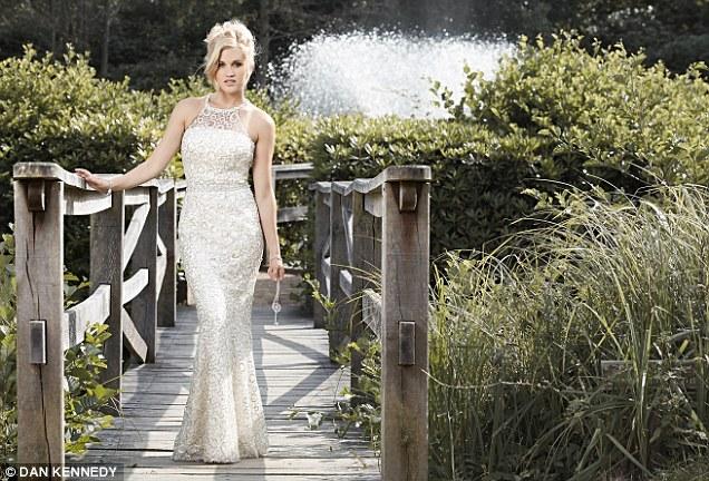 Designer: Former Pussycat Doll Ashley Roberts has turned designer and created a range of glamorous dresses for Key Fashion