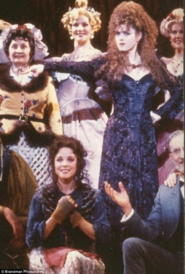 Famous role: The part was made famous by Bernadette Peters in the 1987 Broadway production