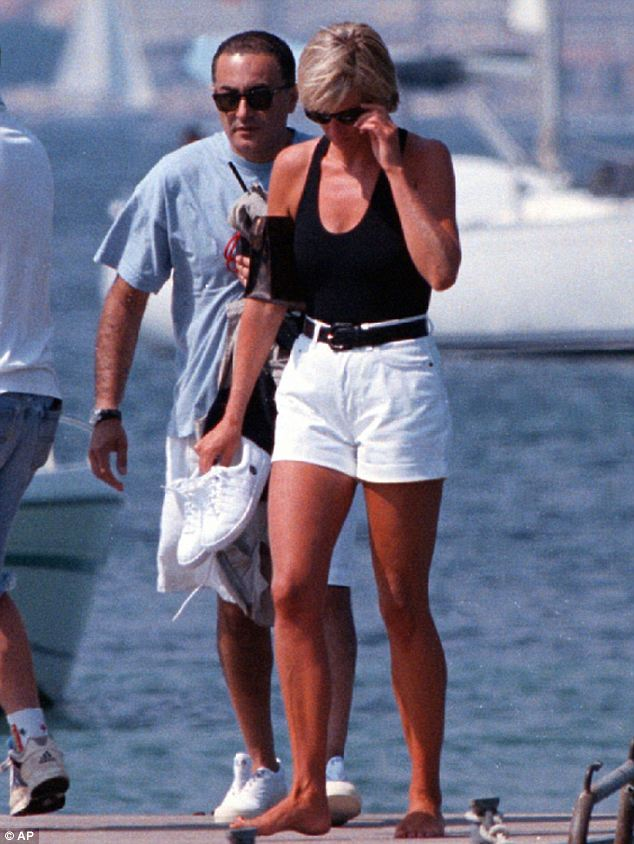 Big news: Jason was the first person to photograph Princes Diana with her then-boyfriend Dodi Fayed in summer 1997