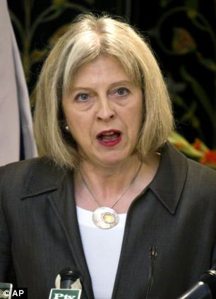 Home Secretary Theresa May will be staying put