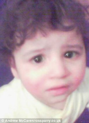 Four-year-old Hamzah Khan