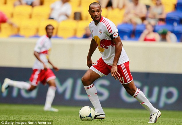 Stateside: Henry joined New York Red Bull back in 2010 after spells at Arsenal and Barcelona