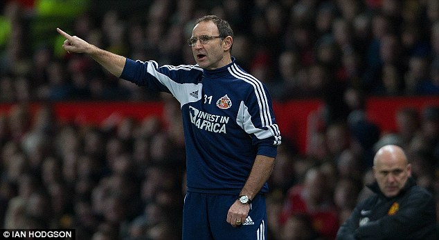 Front runner: Martin O'Neill is the favourite to take over from Giovanni Trapattoni as Ireland boss