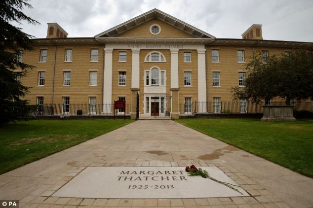 Relationship: Lady Thatcher built up a strong relationship with the Royal Hospital Chelsea during the last 10 years of her life and her final resting place was down to her wishes