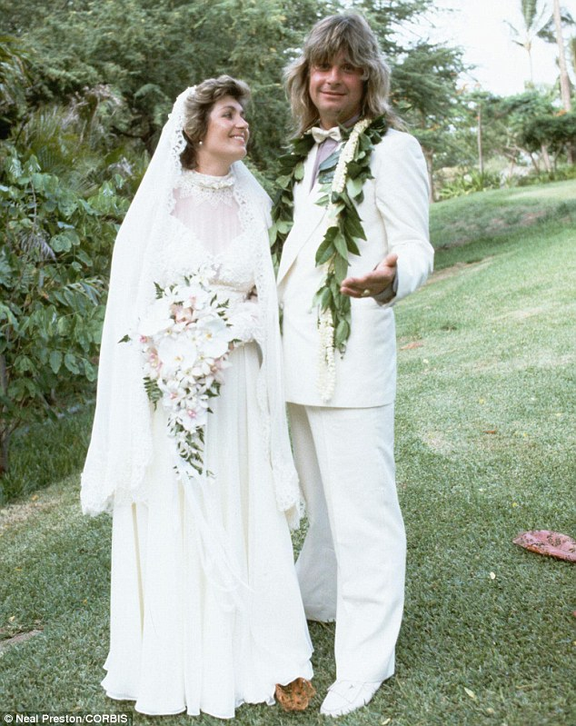 Solid: Many believed the couple were forever after they remained tight since marrying back in 1982