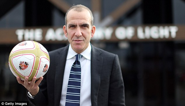 Gone: Paolo Di Canio was sacked by Sunderland after the defeat to West Brom