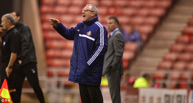 Caretaker: Kevin Ball has been put in temporary charge at the Stadium of Light