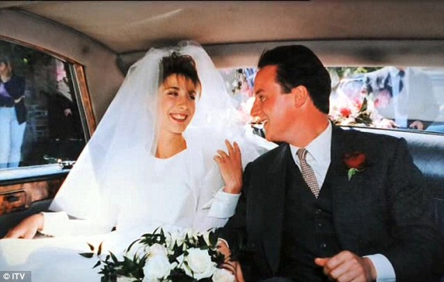 Devotion: Mr Cameron, pictured on his wedding day, is sending a powerful message that his Government is on the side of couples who make a lifelong commitment to each other