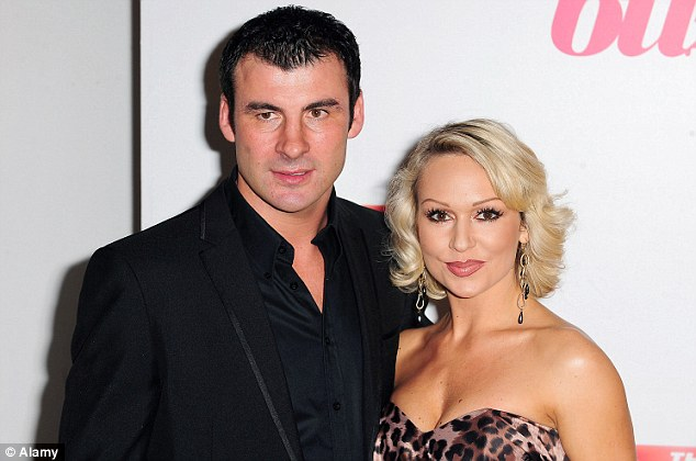 Romance: Joe Calzaghe and Kristina Rihanoff got together after appearing as contestants on Strictly Come Dancing