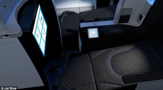 Perfect for snoozing: The new 'Mint' class will have lie-back seats for passengers to take a nap on the long cross-country flight