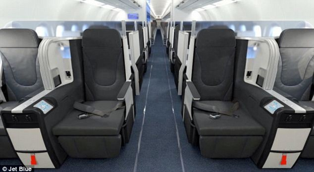 New class: JetBlue announced today the new 'Mint' class which will be offered on flights from New York to Los Angeles and New York to San Francisco