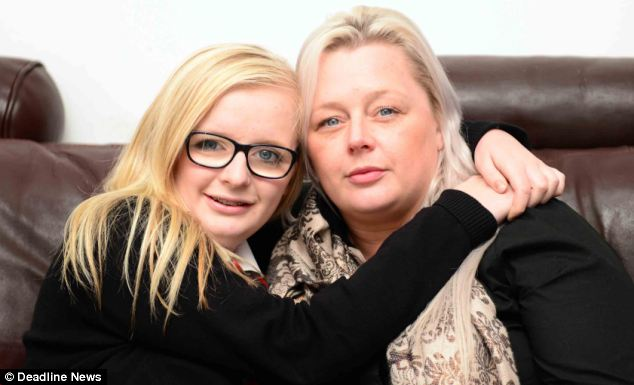 Chloe Glasson, 14, developed narcolepsy after having the swine flu vaccine. She now falls asleep up to 30 times a day and suffers extreme mood swings and scary, vivid dreams