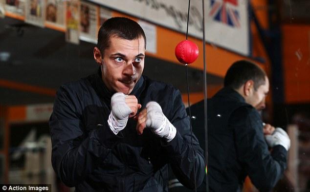 Eyes on the prize: Scott Quigg takes on Cuban Yoandris Salinas for the WBA super-bantamweight world title