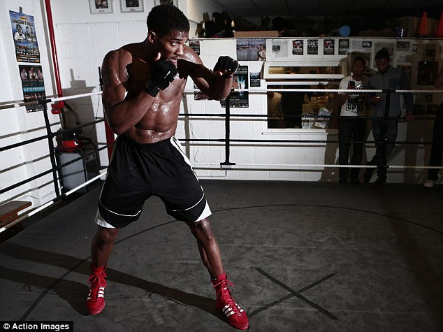 Time to shine: Olympic gold medalist Anthony Joshua makes his professional debut this weekend
